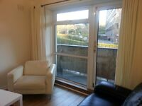 City Centre beautiful modern two bedroom flat with free parking suitable for two professionals.