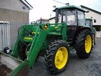 John Deere 2040s with JD Powerloader & Bucket