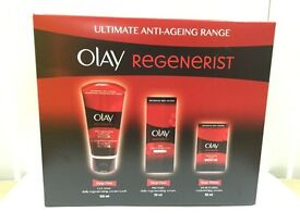 Olay Regenerist Pack of 3 / Cleanse , Prepare , Moisturise - 99 pack in stock