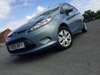 2009 Fiesta Econetic1.6 Diesel,Full Service History,1 Owner, £0.0 Road Tax,5 Ddrs In Good Condition.