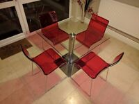 John Lewis Table and 4 Chairs - Looks Great