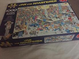 Jan van haasteren comic puzzle