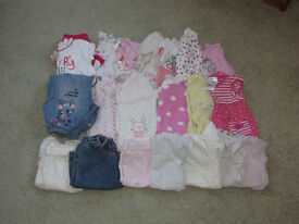 Bundle 1 - 0-3 months baby girls clothes