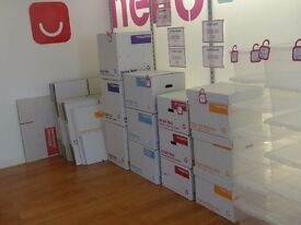 Brand New Cardboard Boxes within 20%OFF collection only
