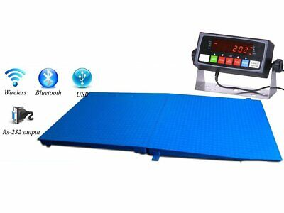 New 48 X 48 Pallet Size Floor Scale With A Ramp 2500 Lbs X .5 Lb
