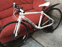 "Boardman Compfi hybrid bike seat tube 18"""