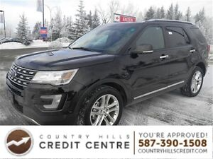 2016 Ford Explorer Limited 4X4 Massage Seats Sunroof