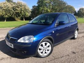 2006 56 VAUXHALL CORSA 1.2 SXI+ ONLY 28,529 MILES F.S.H STUNNING