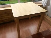 IKEA Bjorkudden table Solid Birch