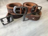 Replica designer belts