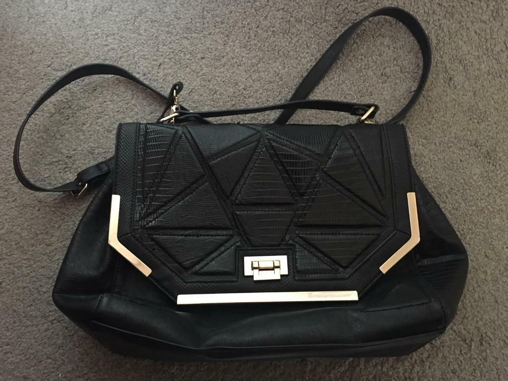 River Island Black Handbag