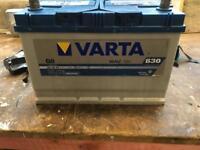 Large car battery 95ah