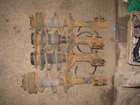 Impreza WRX Turbo 2000 Shock Absorbers & Springs 93-01