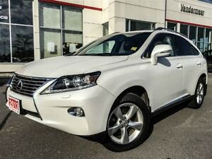 2013 Lexus RX 350 LEATHER+SUNROOF+COOLED SEATS!