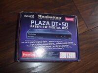 Manhattan Plaza dt-50 freeview digital box
