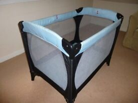 Baby Travel folding Cot with case.