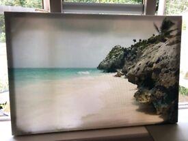 Beach Wall Canvas
