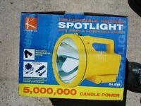Halogen Spotlight Torch