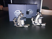 Danny Robinson Coils Machines 1Liner 1Shader Limited edition Old School,kit tattoo machine