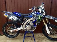 Yzf 450 2011 (ex Yamaha team bike) rmz,kxf,sxf,crf