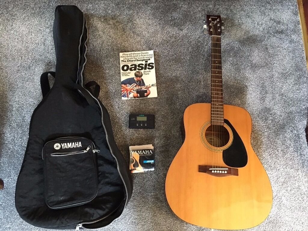 Yamaha Acoustic Guitar Tunes And Soft Case In Bradford West