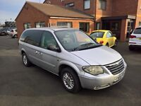"Chrysler Grand Voyager ""Stow & Go"" 2.8 Diesel. Ex Airport transfer vehicle. 6 months MOT."