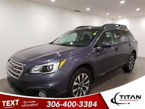 2015 Subaru Outback Limited|AWD|Cam|Leather|Nav|Sunroof