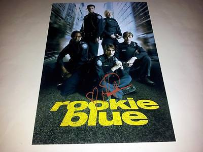 """ROOKIE BLUE PP SIGNED 12"""" X 8"""" INCH POSTER MISSY PEREGRYM"""