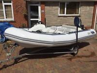 Avon 4.25 Seasport RIB , Speedboat, Inflatable, Dingy . Boat