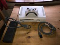 XBOX 360 plus controller plus 20 games