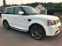 RANGE ROVER SPORT 2008 WITH LOW MILES AND FULLY HPI CLEAR