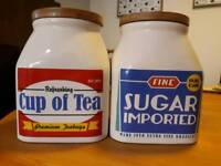 Tea & Sugar Pots