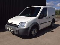 2004 (54) Ford Transit Connect 1.8 TDCi T200 SWB L Low Roof 5dr 12 Months MOT 2 Keys May PX