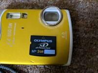 Olympus shockproof & waterproof digital camera