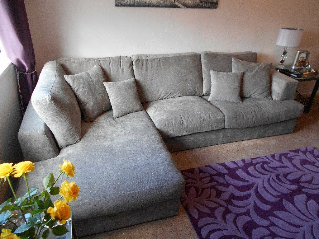 NEXT STRATUS LEFT HAND FACING CORNER SOFAin Duddingston, EdinburghGumtree - NEXT STRATUS LEFT HAND FACING CORNER SOFA IN COTTON TWILL GREY FABRIC CURRENTLY SELLING IN NEXT HOMESTORE @ £1575.00 ONLY PURCHASED RECENTLY ONLY SELLING DUE TO HOUSE MOVE MEASUREMENTS ARE W282 X H88 X D172 ALSO IT IS CORNER / SECTIONAL SOFA IS AS...