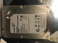 2TB Seagate desktop hard disk drive