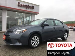2015 Toyota Corolla LE HEATED CLOTH INTERIOR REAR CAMERA