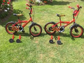 Childs 14 inch wheel cycles