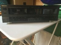 Technics double tape deck RS-TR255 excellent condition.