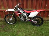 Honda CRF 450, 2006, good condition, selling due to lack of use! £1150 kilmarnock