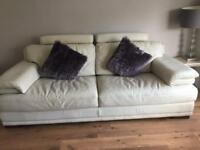 3 seater sofa and chair, excellent condition