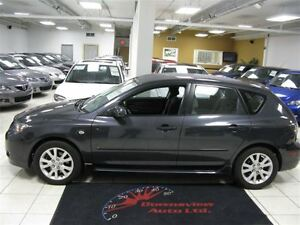 2007 Mazda MAZDA3 SPORT 5SPD!! HATCH!! LOADED!! ALLOYS!!