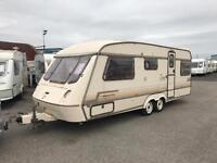 1992 elddis end bedroom twin axle caravan swift abi 5 berth CAN DELIVER