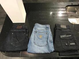 32 waist 32leg men's jeans