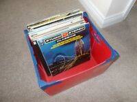 Mixed Box of LP's (over 30)
