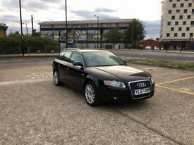 2007 AUDI A4 2.0, AUTOMATIC, DIESEL, BLACK, ESTATE - £1250