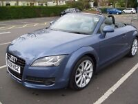 Audi TT roadster 3.2 V6 Quattro 6 speed manual full service history with only 45000 miles