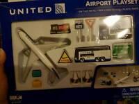 Aeroplane toy set