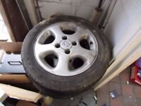 4 x Peugeot 306 Wheels and tyres