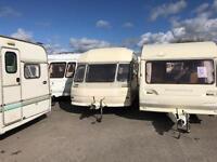 Lunar abi swift elddis caravan in our Saturday sale only